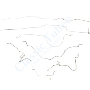 Ford  F350 Brake Line Kit  2WD and 4WD Regular Cab - Long Bed -1990,1991