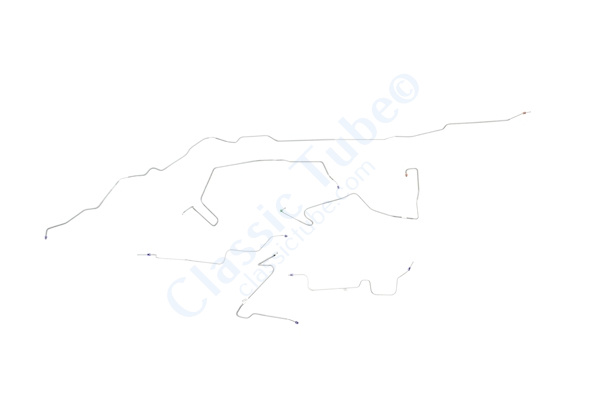 Ford Ranger Brake Line Kit Standard Cab 2WD Rear ABS Short Bed With 8 8 Axle 1993 1994 1995 1996 1997 Classic Tube