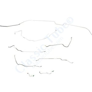 Buick GS Brake Line Kit  Hardtop - Standard Drum -1968,1969