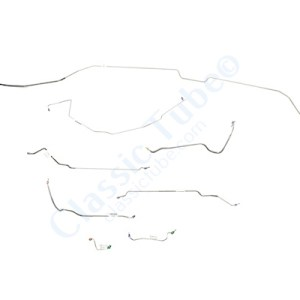 Buick GS Brake Line Kit  Convertible - Standard Drum -1968,1969