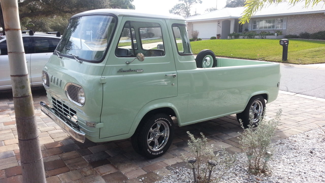 1966 Ford Econoline Pickup Hd Wallpaper Pictures 1961 Truck 1967 Interior