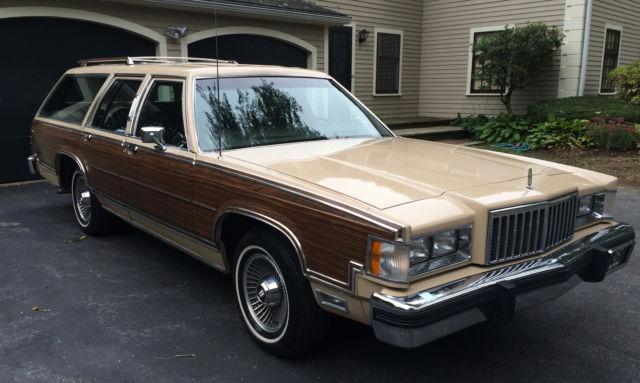 1986 Mercury Grand Marquis Wagon
