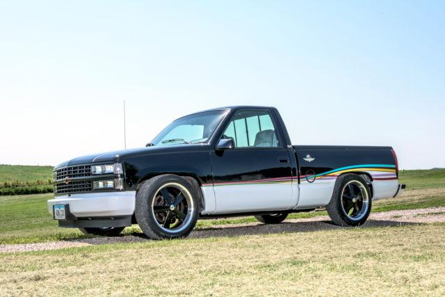 Truck Black C1500 Custom Chevy Pickup