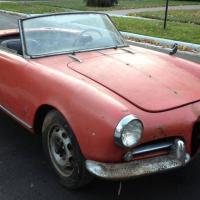 Hard times: 1958 Alfa Romeo Giulietta Spider (update)