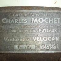 Minor than mini: 1951 Mochet GM-125 De Luxe