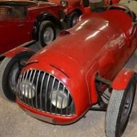"Disused postwar torpedo: 1948 Fiat 500 ""Siluro"""