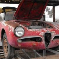 Less is less: 1958 Alfa Romeo Giulietta Spider