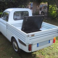 Limited delivery: 1965 Fiat 500 Pickup by Giannini