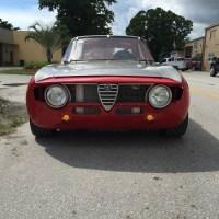 Plenty of rivets: 1968 Alfa Romeo Gt Junior