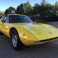 Yellow stinger: 1970 Abarth 1300 Scorpione