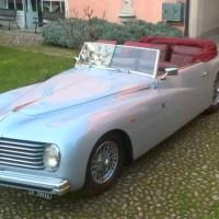 Déco luxury: 1947 Alfa Romeo 6C 2500 Sport Cabriolet by Farina