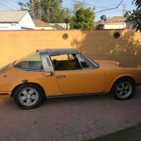 Dry orange: 1972 Porsche 911 T/E 2.4 Targa