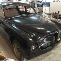 Nardi equipped: 1956 Alfa Romeo 1900 Berlina