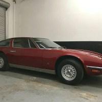 Auto burgundy: 1972 Maserati Indy 4.9