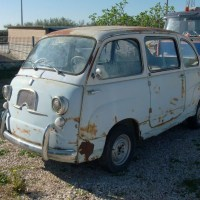 Restoration ready: 1960 Fiat 600 Multipla