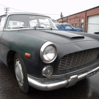 Previously green: 1962 Lancia Flaminia Berlina