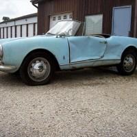 Hard farming: 1961 Alfa Romeo Giulietta Spider