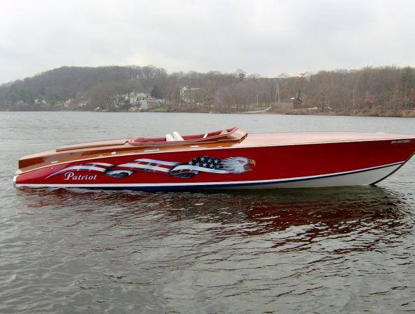 2005 30 Offshore Runabout Patriot Classic Yacht