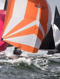 8mR Worlds 2017 with 26 knots of wind