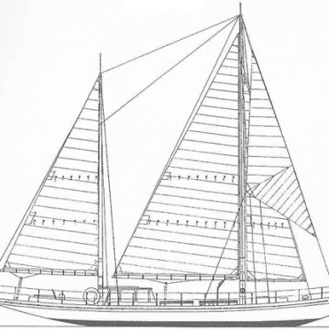 Desiree sail plan