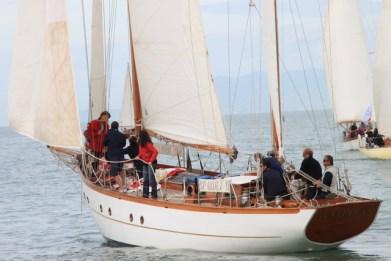 Estella in regata a Viareggio nel 2013_Foto Maccione