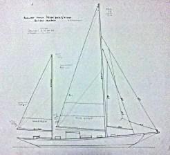Fedoa Bermudan ketch rig
