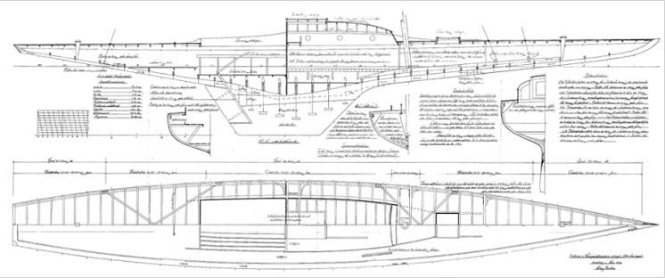 Gerd VI Line drawing
