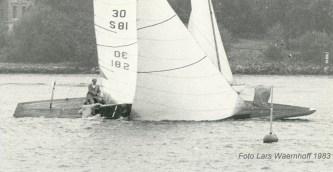 Gerd VI racing in 1983