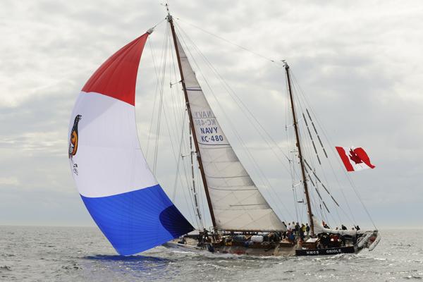 HMCS Oriole Diamond Jubilee Day Sail