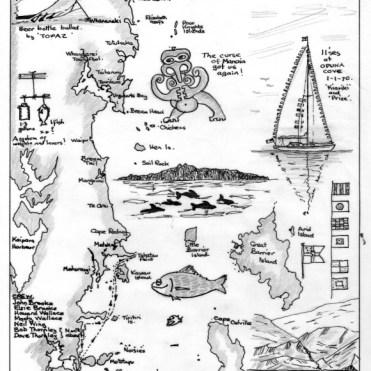 Jack Brooke Collection 21 - Xmas 1969/70 Cruise on Kiariki
