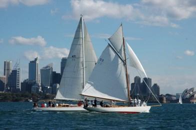 Sydney Amateur Sailing Club Gaffers Day 2006