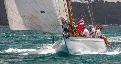 At The 2014 Mahurangi Classic Yacht Race, Auckland, New Zealand.