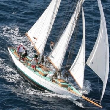 Sif under full sail
