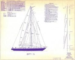 Ulisse Sail Plan
