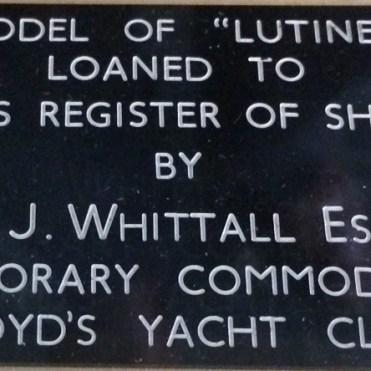 model of Lutine