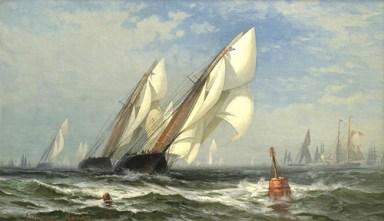 The Winning Yacht - 1876