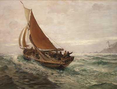 Daybreak at sea (1890)