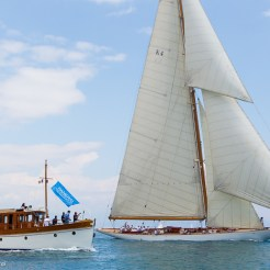 Voiles D'Antibes 2016, Cambria and hospitality boat