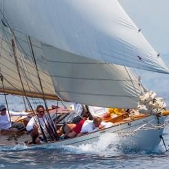 Antibes, France, 5 June 2016, Panerai Classic Yacht Challenge 2016, Voiles D'Antibes 2016, Eva Ph: Guido Cantini / Panerai / SeaSee.com