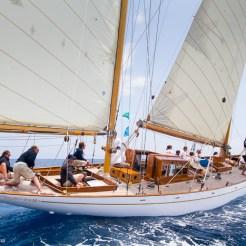 Antibes, France, 5 June 2016, Panerai Classic Yacht Challenge 2016, Voiles D'Antibes 2016, Eilean Ph: Guido Cantini / Panerai / SeaSee.com