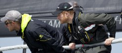 Prince Harry onboard INVICTUS with Sir Keith Mills Copyright onEdition 2016 ©