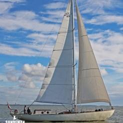 Wyvern II sail