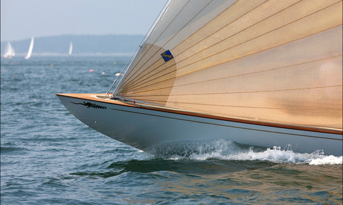 Quest under sail