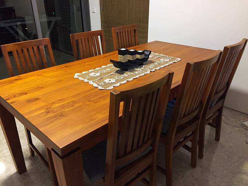 Image Result For Wood Dining Table Set