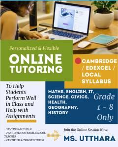 Online tutoring Sri Lanka
