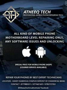 Mobile phone repairing course in Kandy