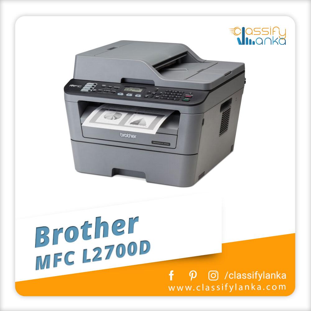 Brother MFC L2700D printer Sri Lanka