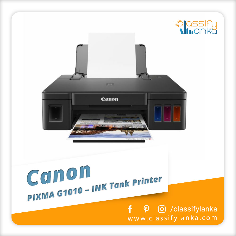 Canon PIXMA G1010 INK Tank Printer Sri Lanka