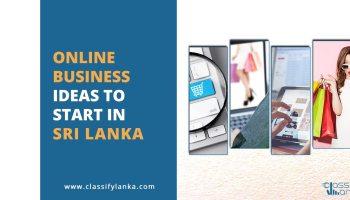 Top Online Business Ideas Start in Sri Lanka