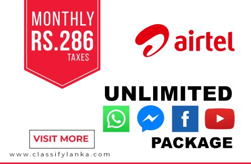 Airtell 286 Unlimited data packs